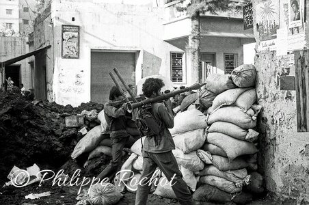 Liban Beyrouth guerre civile 1975