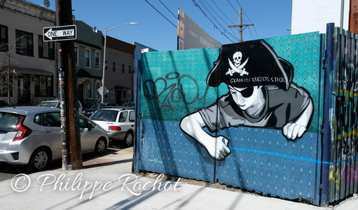 New York USA Sreet art Quartier de Bushwick 2018 (15)