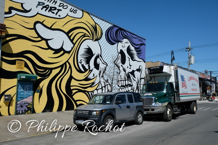 New York USA Sreet art Quartier de Bushwick 2018 (22)
