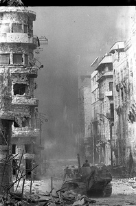 Liban guerre syriens à Beyrouth nov 1976 (9)