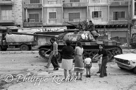 Beyrouth arrivee syriens 1976 (15)